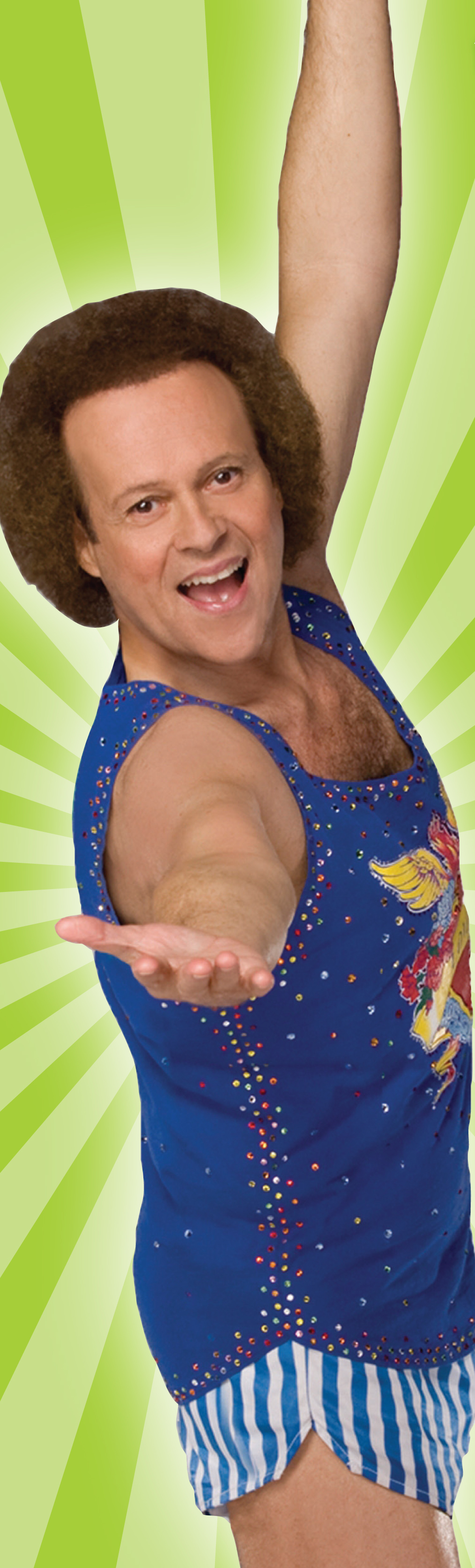 fitness legend richard simmons to speak at annual forum the health journal fitness nutrition. Black Bedroom Furniture Sets. Home Design Ideas