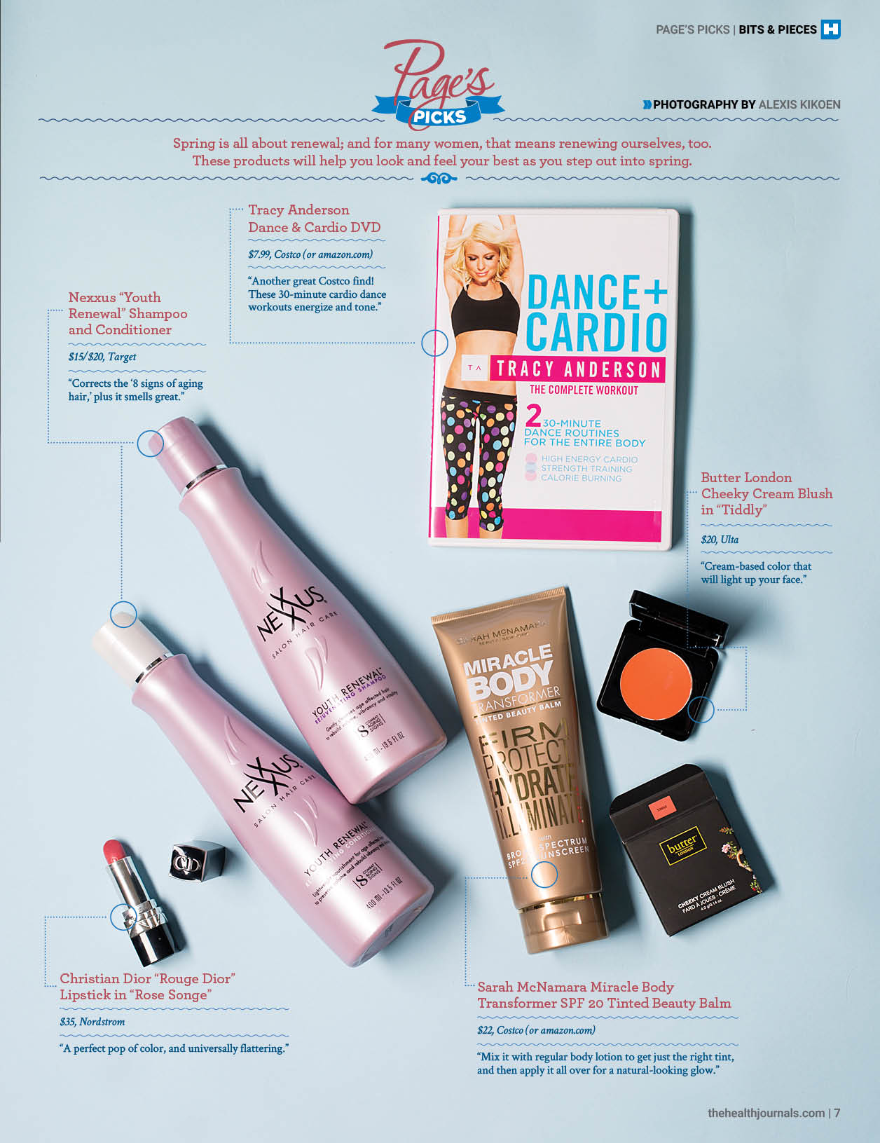 Page's Picks April 2015 - Spring Renewal Products