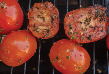 Deliciously Grilled Tomatoes