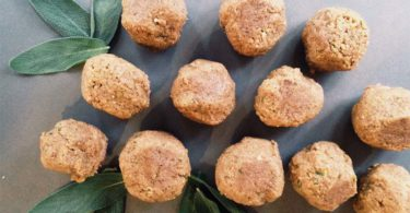 "Walnut & Sage ""Meat Balls"""