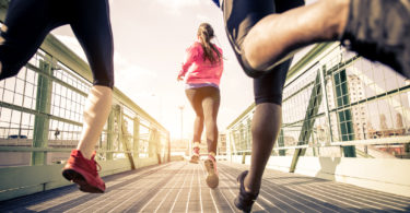 Runners often suffer from overuse injuries.