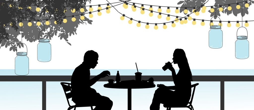 Dining Outdoors Patio Dining In Hampton Roads