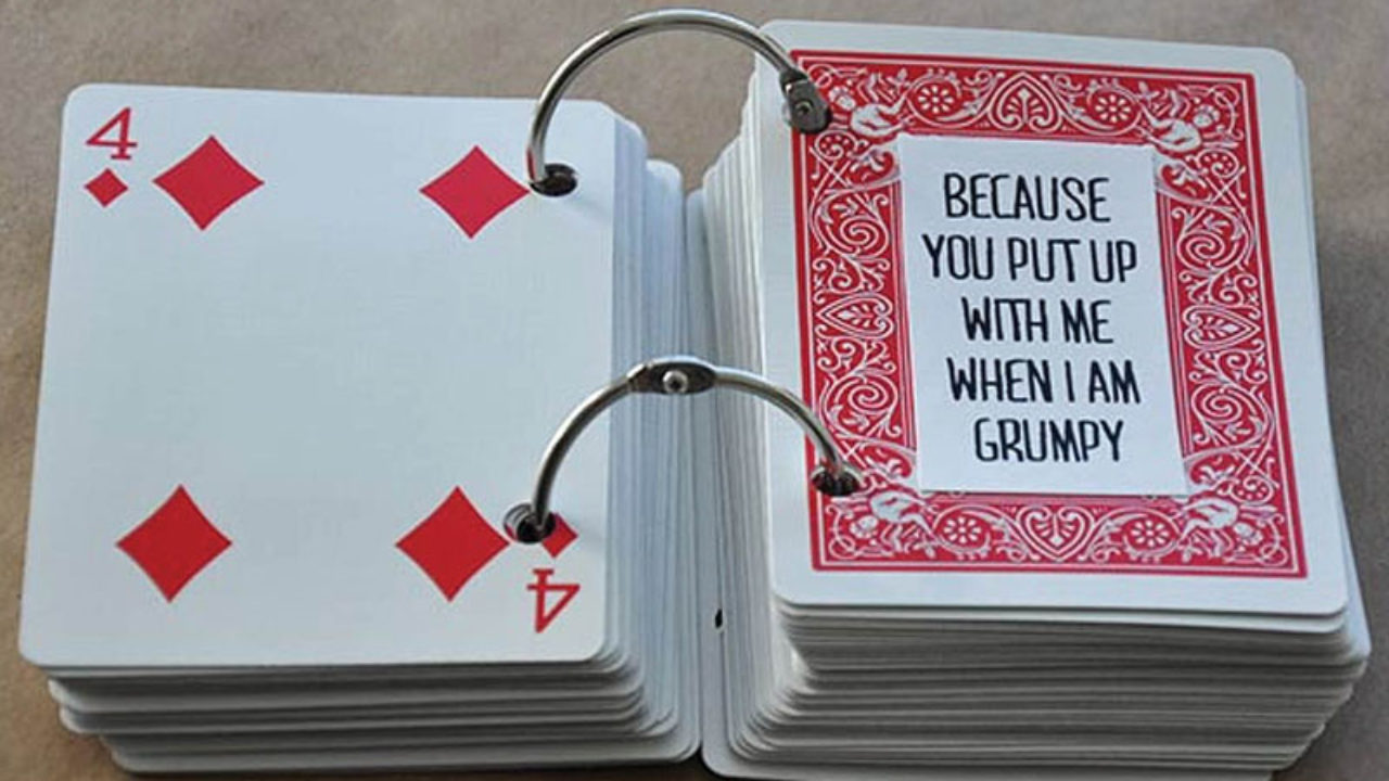 21 Things I Love About You Cards - Health Journal Within 52 Things I Love About You Deck Of Cards Template