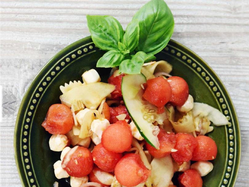 Mozzarella And Watermelon Salad The Health Journal