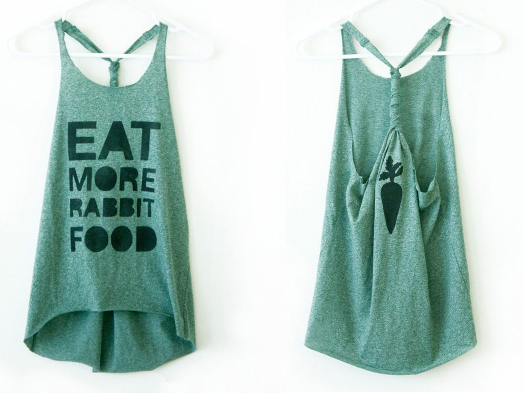 Do it Yourself Turn your T shirt into Something Chic   DIY ...