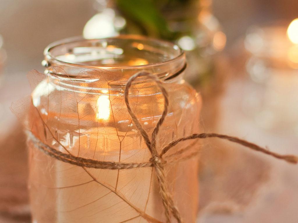 Diy Decorative Mason Jar Candle Health Journal