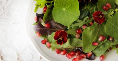 Pomegranate and Arugula Salad