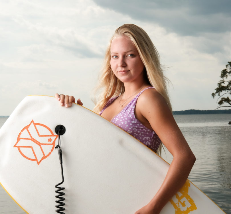 Katlyn Tuttle Making Waves as Female Bodyboarder