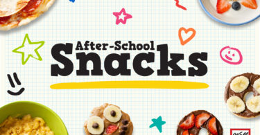 If you're looking for something tasty to eat after school, then check out these snacks!