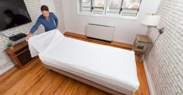 Peel Away Labs Creates Disposable Bed Sheets